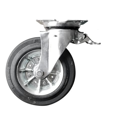 Metal Waste Container Wheels