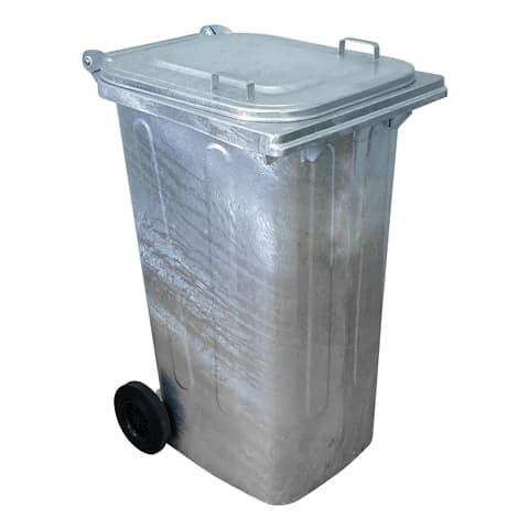 Μεταλλικός Κάδος Απορριμμάτων/Σκουπιδιών/Ανακύκλωσης 240 λίτρων