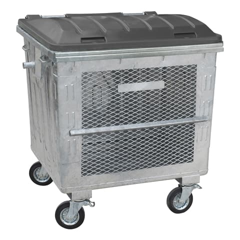Metal Waste Container 1100 L